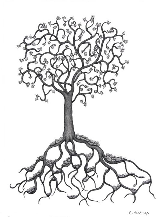 roots coloring pages - photo#29